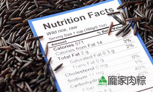 黑米與紫米的營養價值