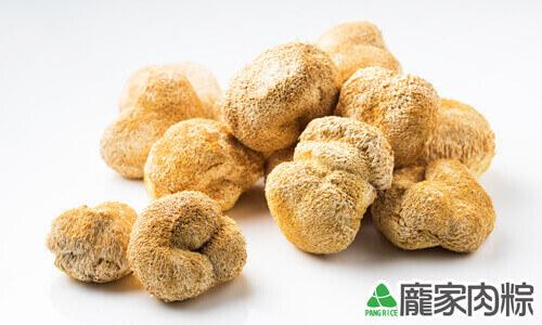 龐家肉粽食材猴頭菇