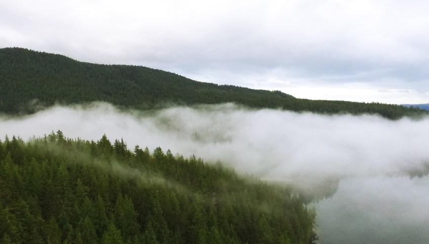 sasamat lake port moody bc drone phantom dji