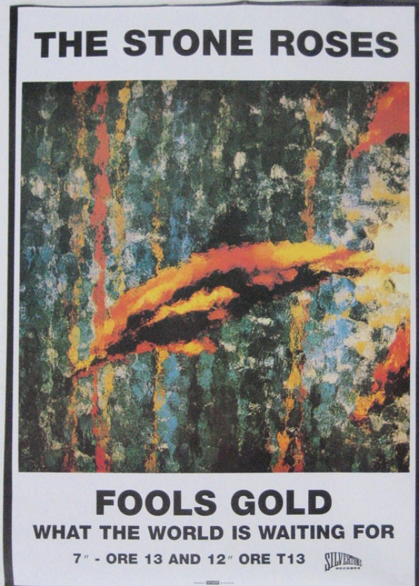 Stone Roses Posters Stone Roses Fools Gold Poster 974