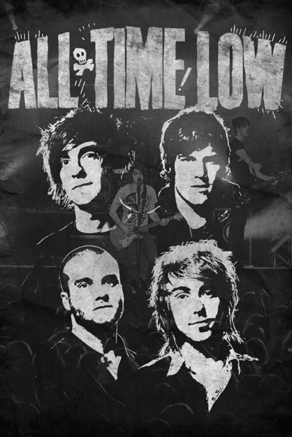 all time low posters all time low