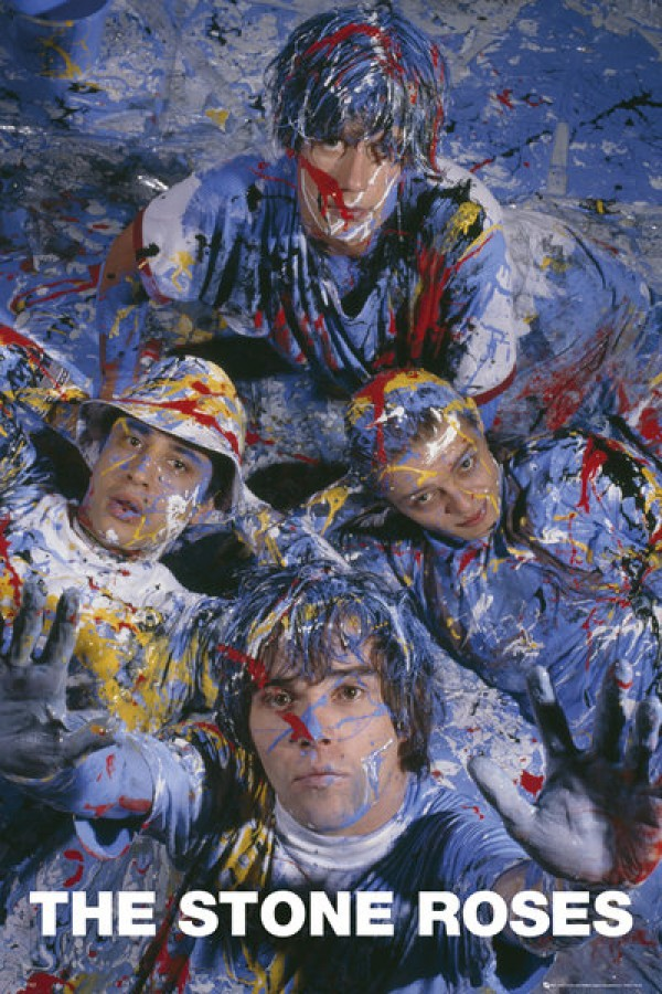 Stone Roses Posters Stone Roses Paint Poster Lp1527