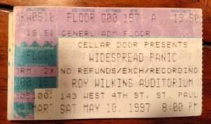 Widespread Panic - 05/10/1997 - St Paul, MN