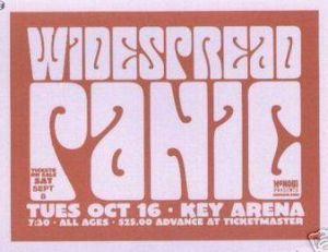 Widespread Panic - 10/16/2001 - Seattle, WA