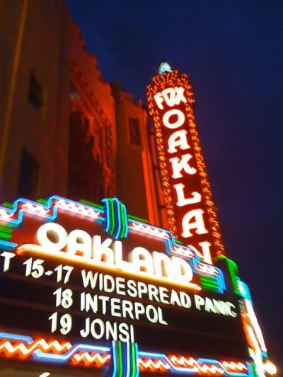 Widespread Panic - 10/15/2010 - Oakland, CA | PanicStream