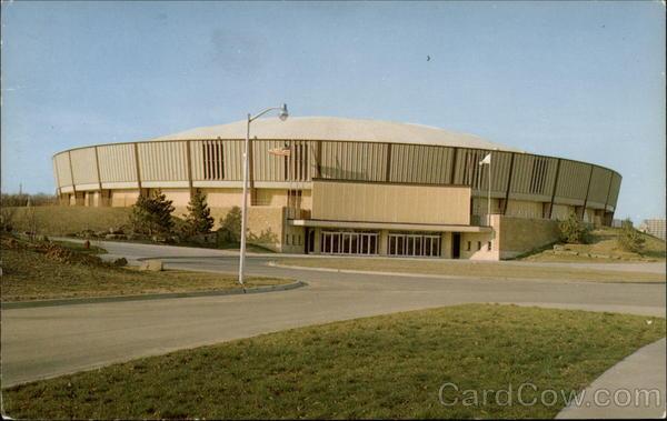 The S.I.U Arena Carbondale