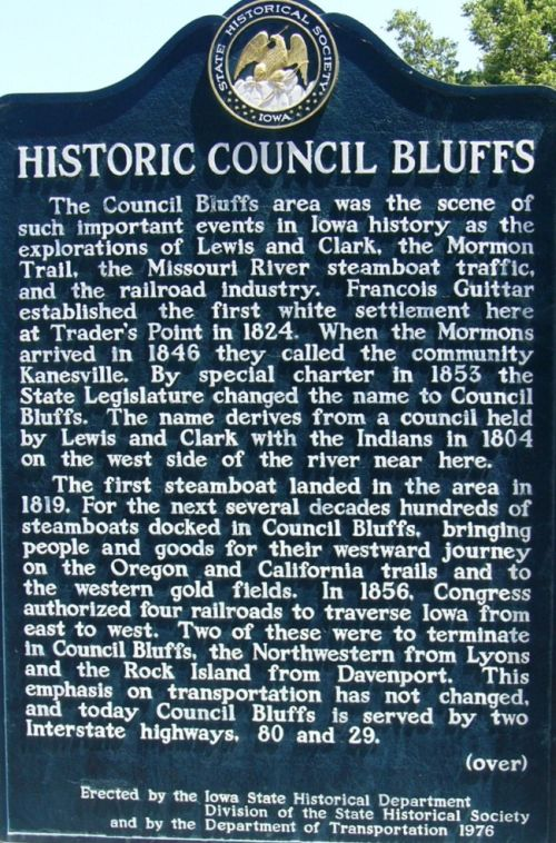 Historic_Council_Bluffs_Marker,_side_a
