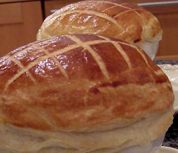 Crème de châtaigne au foie gras