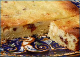 Tarte au fromage et aux amandes 1