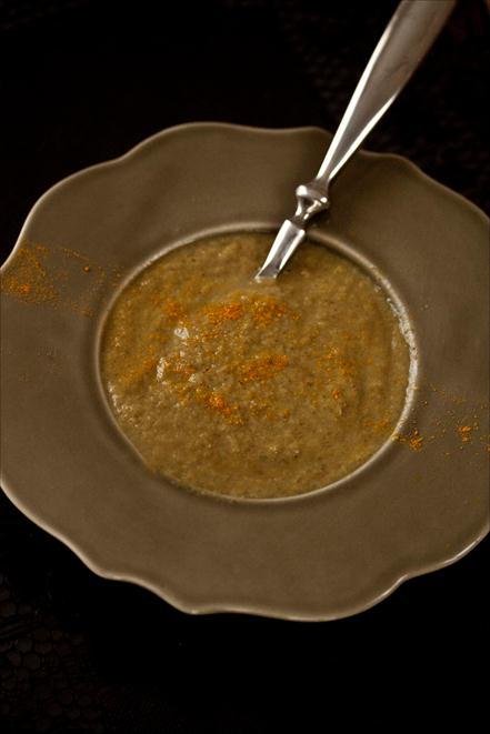 Crème de champignons au curry 1