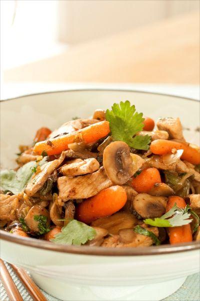 Sauté d eporc carottes champignons 1
