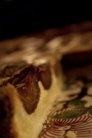 Tarte aux quetsches, tarte d'hiver avec fruits congelés! pour Micah...