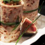 Nems au jambon, tartine de boudin et wrap de flammekuche, les recettes de l'atelier savoir faire charcutier français