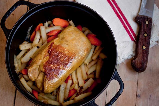 Foie gras cuit en cocotte