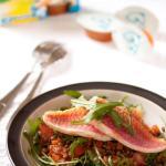 Salade de rougets aux lentilles avec Knorr