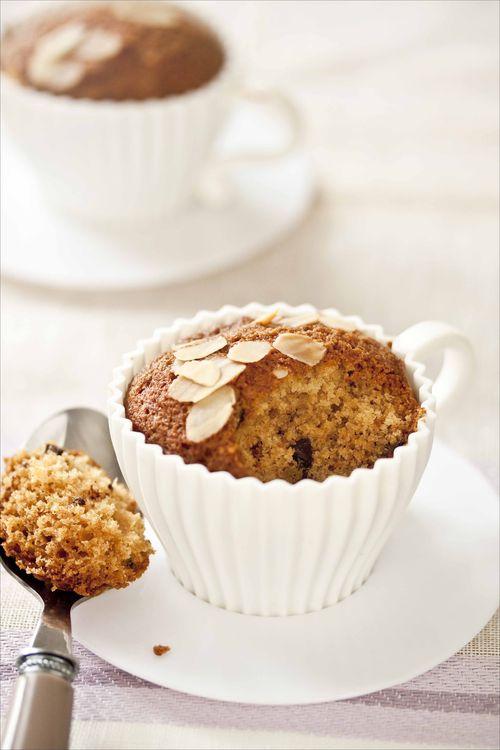 Muffins aux pépites de chocolat 2