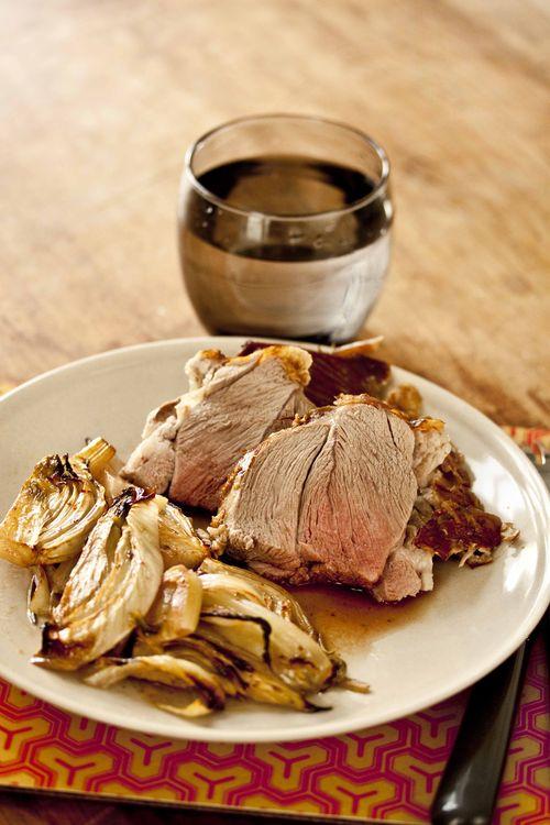 R visons nos classiques de p ques l paule d agneau - Cuisiner fenouil braise ...