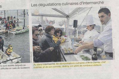 Presse Trinité sur Mer Les Mousquetaires Spi Ouest France