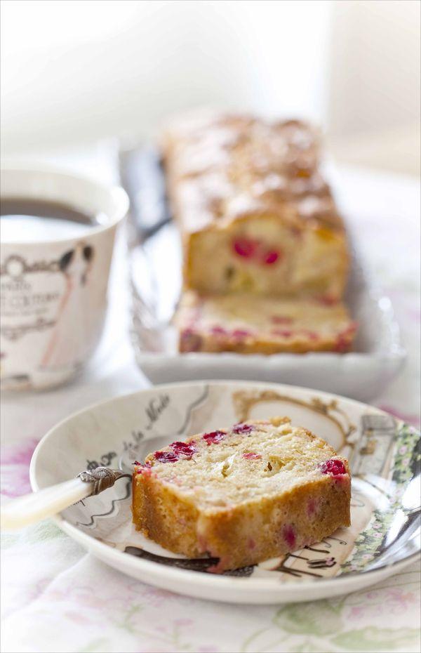 Cake aux pommes et aux cranberries fraîches 1