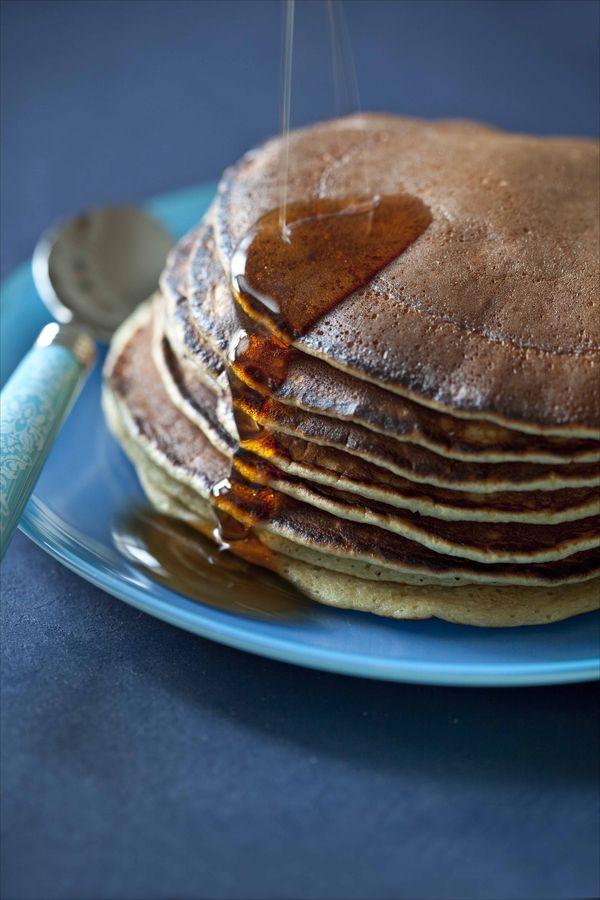 Pancakes à la fleur d'oranger, rapides et faciles 3