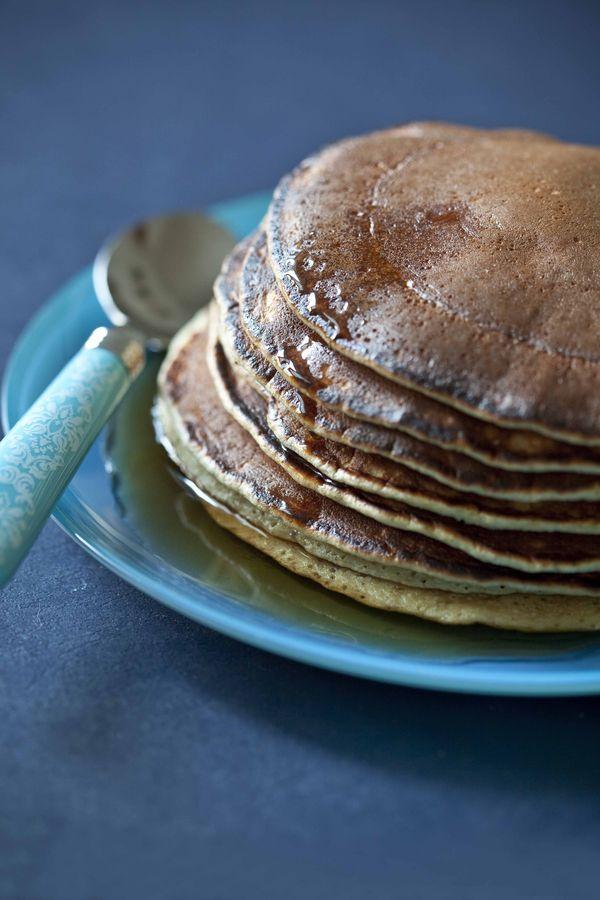 Pancakes à la fleur d'oranger, rapides et faciles 4