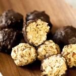 Bouchées énergétiques aux céréales et au chocolat: le Lundi c'est permis, et je le vaux bien!