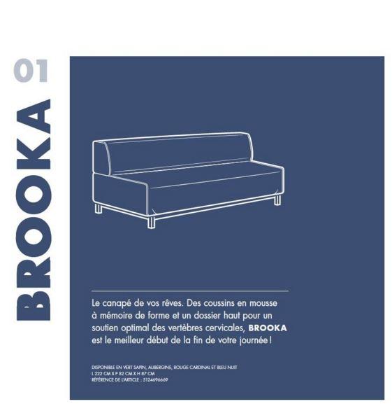 Booka le canapé maculé de Orsk Horrostör