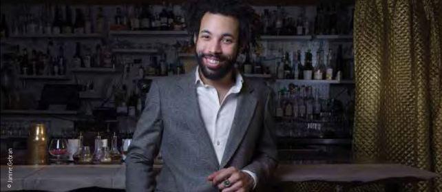 Sullivan Doh, bartender du Syndicat Cocktail Club