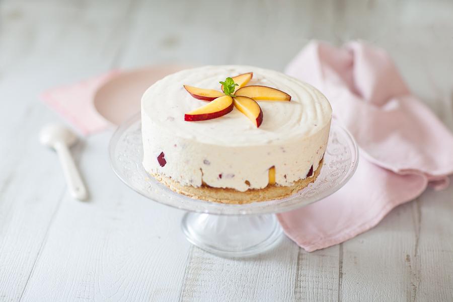 Cheesecake aux nectarines©AnneDemayReverdy01