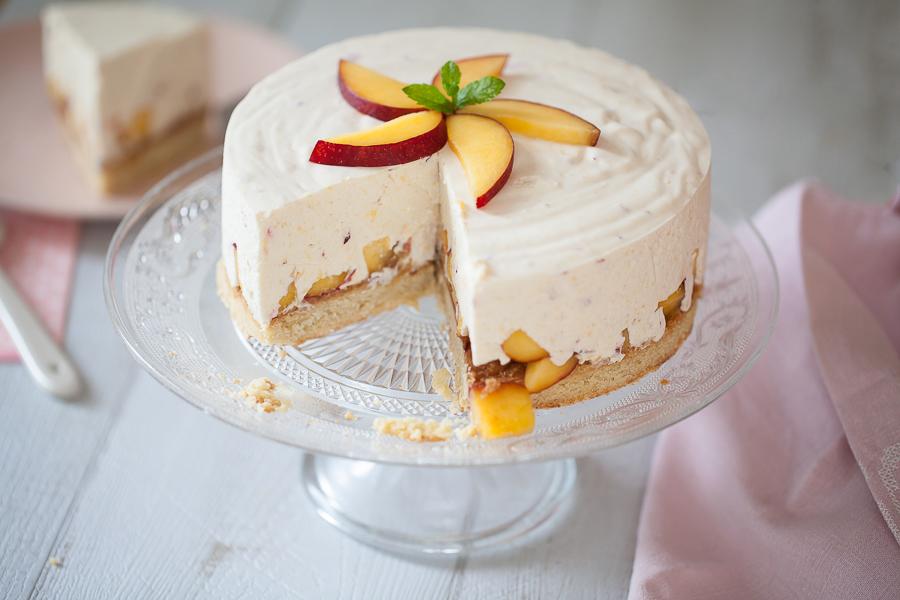 Cheesecake aux nectarines©AnneDemayReverdy03