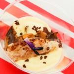 Morue d'Irun braisée au cacao et olives arbequines, la recette de Cédric Béchade au Paris Basque