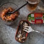 Tartare de tomates pour sardines au piment de Connétable