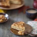 Tarte briochée aux pommes, le lundi c'est permis de faire un petit déjeuner de roi!