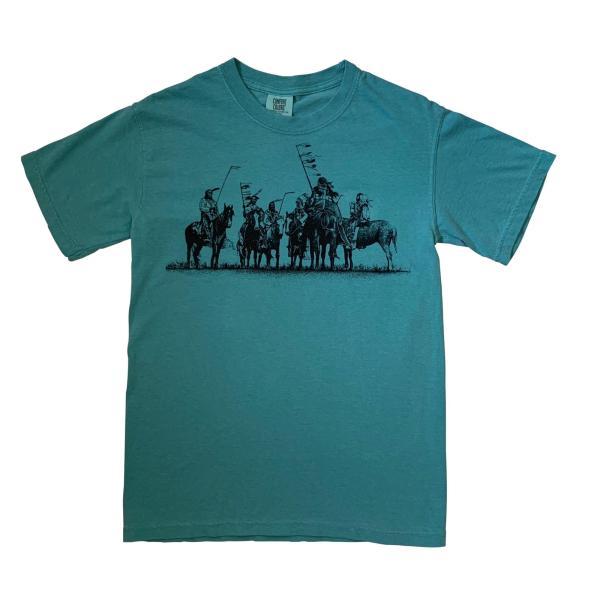 Native American Indian Print T -Shirt