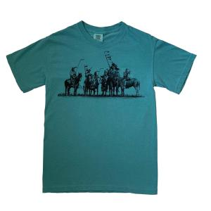Native American Indian Print T -Shirt