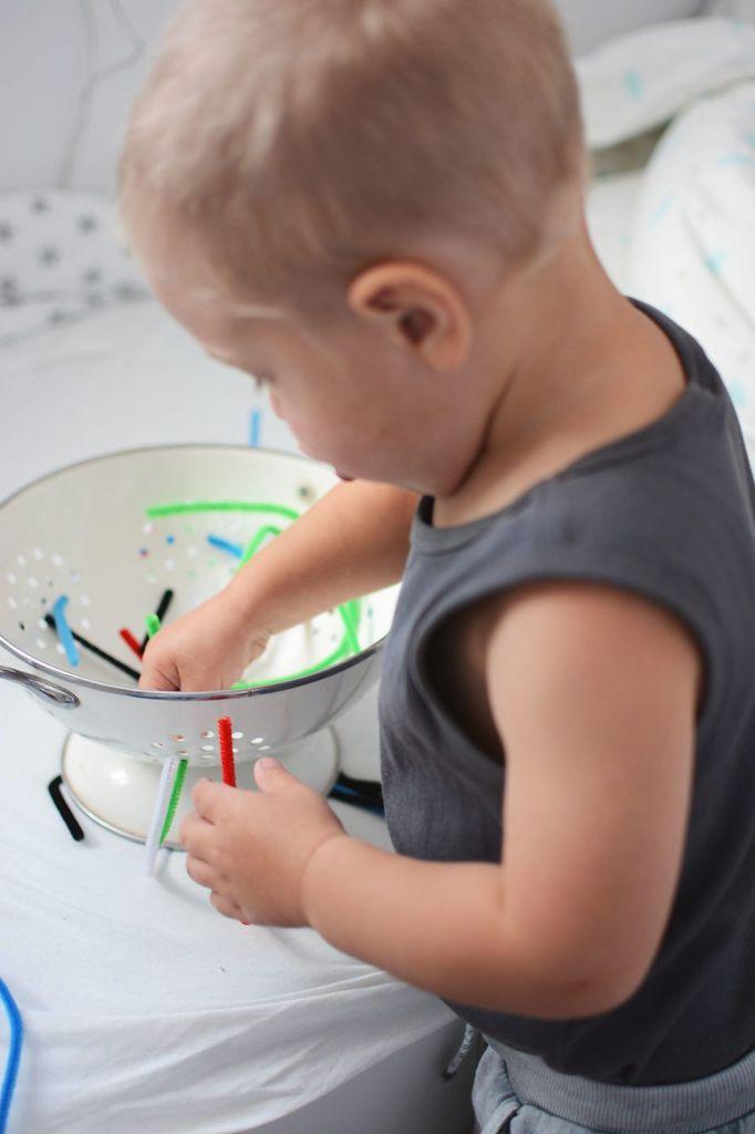 kreatywna zabawka kolorowe druciki