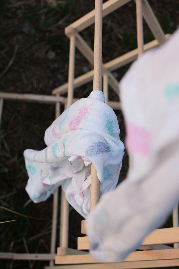 Makaszka pieluszki bambusowe chusta