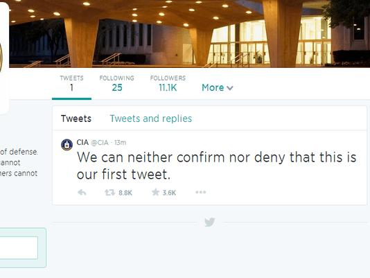 CIA Twitter 1