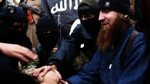 Abu Umar Al Shishani berbaiat pada islamic state