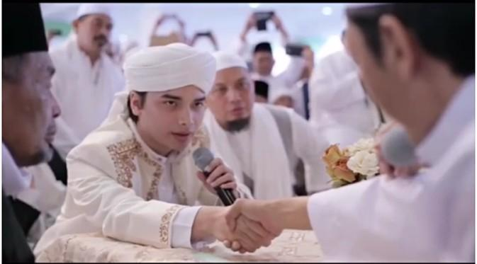 pernikahan putra ustadz arifin ilham 2