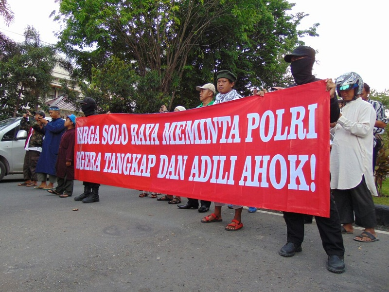 Ratusan Aktivis Islam Solo Akan Gruduk Jakarta Ikut Aksi 4 November