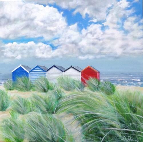 Five Beach Huts