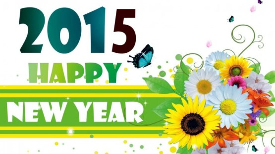 Happy-New-Year-2015-With-Flowers-hd-wallpaper