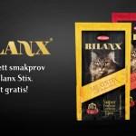 Gratis smakprov på kattfoder Bilanx