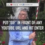 Skapa gif från youtube
