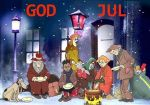 God Jul önskar Pankpraktikan