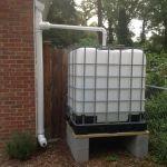 Smart att ta tillvara på regnvattnet