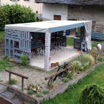 Bygga billig uteplats med pallar ☺️