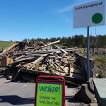Vilket fantastiskt initiativ av Vaggeryds Återvinningscentral