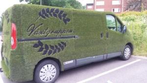gräs bil